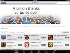 Os aplicativos mais baixados da história da App Store
