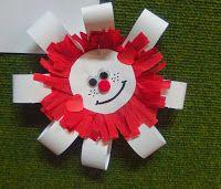 Kotylion w barwach narodowych ~ Zamiast kserówki. Edukacyjne gry i zabawy dla dzieci.