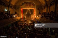 Angus and Julia Stone perform on stage at Wilton's Music Hall on July 10, 2014 in London, United Kingdom.
