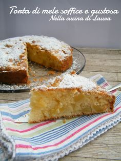 torta di mele soffice e gustosa - nella cucina di laura