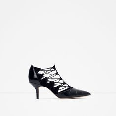 HIGH HEEL LEATHER SHOES WITH STRAPS-View all-Shoes-WOMAN | ZARA United States