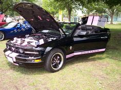 2008 Mustang (Breast cancer edition)