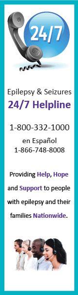 Epilepsy Foundation and Epilepsy Therapy - awareness and education work being undertaken www.epilepsy.com