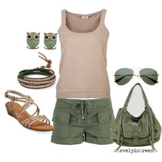 """""""My simple summer style"""" by lovelyingreen on Polyvore"""
