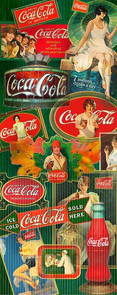 Learn about Coca-Cola history during the The Martin Guide to Coca-Cola Memorabilia and Coca-Cola Price Guide is your ultimate guide to collecting vintage Coca-Cola items dating from 1890 to Coca Cola Santa, Coca Cola Ad, Always Coca Cola, Coca Cola Bottles, Retro Advertising, Retro Ads, Vintage Ads, Coca Cola History, World Of Coca Cola