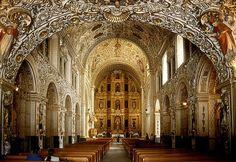 Santo Domingo. Beatiful Church in Oaxaca, Mex.