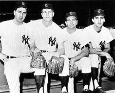 Sports | History | Baseball | 1964 | Yankees | New York | Clete Boyer, Tony Kubek, Bobby Richardson and Joe Peptone