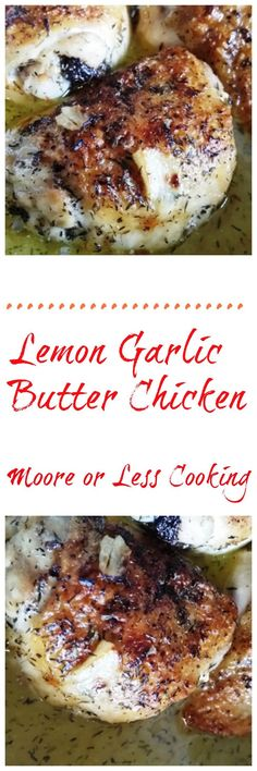 Lemon Garlic Butter Chicken