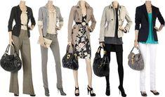 Opções de roupa social