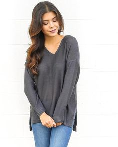 Run This City Sweater - Charcoal