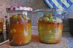 Lauch - Zwiebel - Zucchini - Feta - Knoblauch - Kuchen mit Speckwürfeln (Rezept mit Bild) | Chefkoch.de