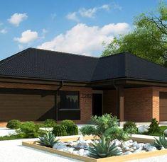Z282 to wyjątkowy dom z kategorii projekty domów parterowych Modern House Plans, Outdoor Decor, Home Decor, Houses, Projects, Modern Home Plans, Interior Design, Home Interiors, Decoration Home