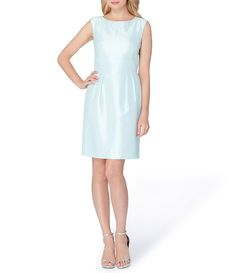 85b9459b0c4 Tahari ASL Petite Beaded Shantung Sheath Dress Dress For Petite Women
