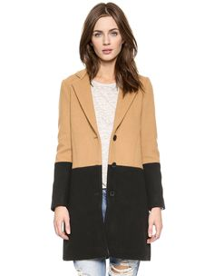 Shop Camel Black Long Sleeve Color Block Coat online. Sheinside offers Camel Black Long Sleeve Color Block Coat & more to fit your fashionable needs. Free Shipping Worldwide!