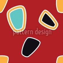 Hochqualitative Vektor-Muster auf patterndesigns.com - Grafisches Sixties Designmuster, designed by Matthias Hennig, Deutschland