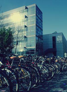 Copenhagen Business School, smart heads only.