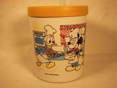 Vntage Walt Disney Cookie Jar made In USA by Eagle
