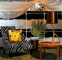 African Style In The Interior Design