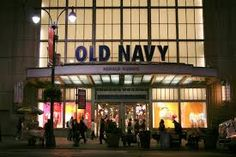 Day 3 - Old Navy