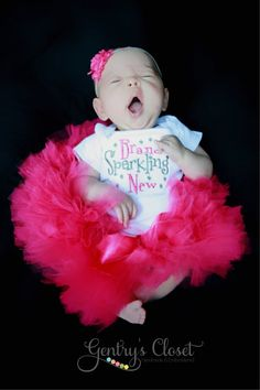 Baby Girl Infant Bodysuit - Brand Sparkling New - Newborn Present, Baby Shower Gift. Embroidered Bodysuit. Baby Clothing.