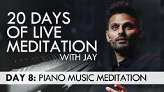 20 Days of Live Meditation with Jay Shetty: Day 8 Business Motivational Quotes, Motivational Speeches, Motivational Videos, Business Quotes, Motivation Success, Morning Motivation, Success Quotes, Meditation Music, Entrepreneur Quotes