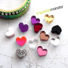 Hey, I found this really awesome Etsy listing at https://www.etsy.com/listing/193403359/get-2-hearts-usa-seller-floating-charm