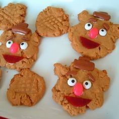 Fozzy Peanut Butter Cookies