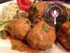 Érdekel a receptje? Kattints a képre! Meat Recipes, Paleo, Food And Drink, Chicken, Dinner, Ethnic Recipes, Hungary, Meat, Recipes