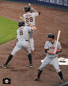 Buster Posey, Hunter Pence & Brandon Belt  there's a lot of power out there