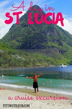 st lucia spencer ambrose tours cruise excursion piton mountains fittwotravel.com