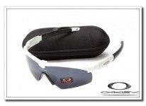 cheap fake Oakley m frame sunglasses white / black iridium for usa