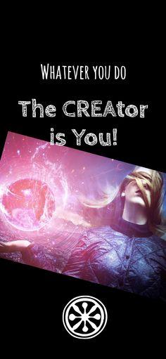 Denn egal, was du tust, DU tust es...! - Du hast die Macht. Du hast die Verantwortung. | Mehr auf Instagram⤵️ The Creator, Movie Posters, Instagram, Film Poster, Popcorn Posters, Film Posters, Posters
