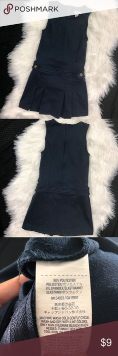 Old Navy Uniform Jumper Navy blue, in excellent used condition! Old Navy Dresses