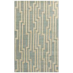 Surya Candice Olson Modern Steps Ivory Tufted Wool Rug