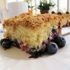 Mango Raspberry Buttermilk Cake