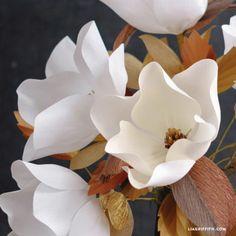 Crepe Magnolias