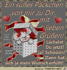 Ein suesses Paeckchen - New Ideas Happy New Year Quotes, Quotes About New Year, Brother Quotes, Wife Quotes, German Quotes, Lovers Quotes, Best Homemade Dog Food, Beautiful Day, Happy Birthday