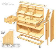 Grab-and-Go Tool Storage: The Family Handyman