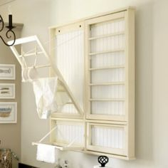 Wall mounted - Drying rack