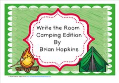Write The Room Camping Beginning Sounds is perfect for Kindergarten or Pre-K. It also works for struggling first graders. Children write the room as they find pictures of camping things. This is perfect for reading centers or early finishers and will get your students up and moving!