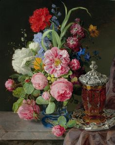Floral still life by Andreas Lach