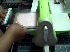 Make your own embossing plate using punches or cricut