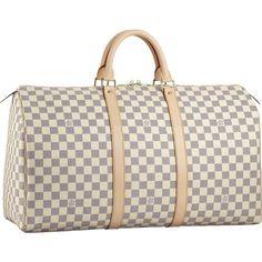Louis Vuitton Keepall 50 Damier Azur Canvas N41430