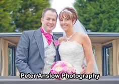 Stunning bouquet showed off with some fab photography by Peter Anslow.