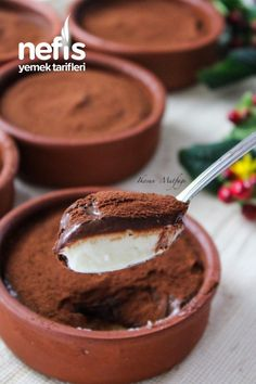 Sweets Recipes, No Bake Desserts, Cooking Recipes, Tasty, Yummy Food, Dessert Drinks, Turkish Recipes, Pudding Recipes, Pavlova