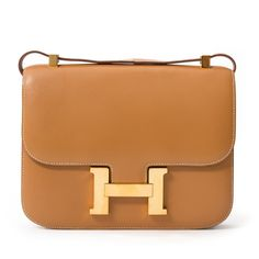 Hermes Gold Constance bag with gold hardware