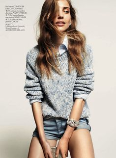 sweater style editorial - Google Search