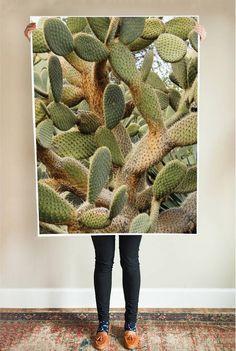 Poppytalk: Affordable Art | Large Cacti Series Printable Posters Under $20