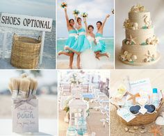 """#Wedding Inspiration featuring Evermine's """"Coco Palms"""" Invitation Collection in sky."""