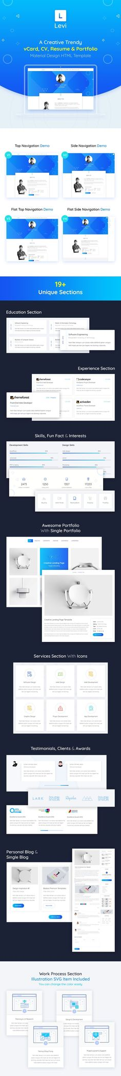 Whole - Responsive Business Multi-Purpose PSD Template #creative - resume education section